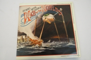 LP Jeff Waynes Musical version of War of the Worlds